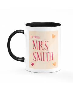 Personalised Name The Future Mrs