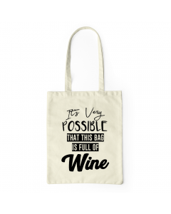 Bag Full Of Wine
