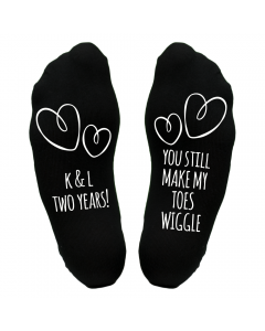 Personalied Toes Wiggle