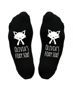 Personalised Foxy Socks