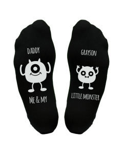 Personalised Daddy Little Monster