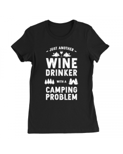 Wine Drinking Camper