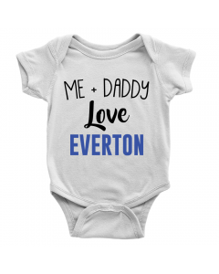 Me + Daddy Love Everton