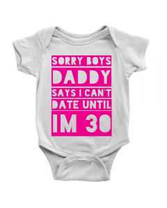 Sorry Boys Can't Date