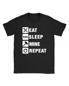Eat Sleep Mine Repeat