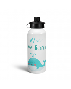 Personalised W is for Whale