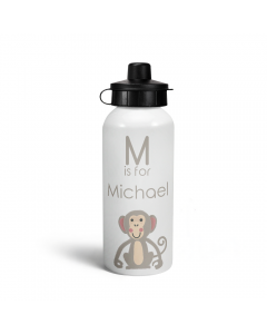 Personalised M is for Monkey