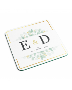 Personalised Name Marriage Date And Initial