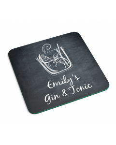 Personalised Name Gin And Tonic