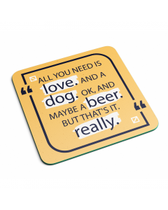 Love Dog Beer
