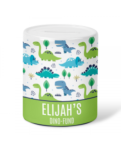 Personalised Name Dinosaur 8