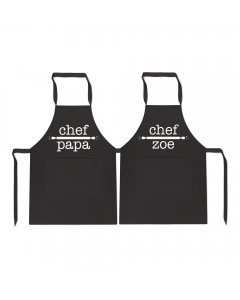 Personalised Duo Name Chef
