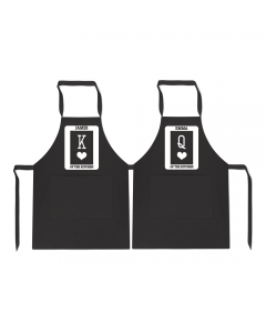 Personalised Duo King Queen Cook