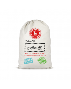Personalised Santa Sack 11
