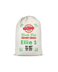 Personalised Santa Sack 10