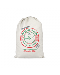 Personalised Santa Sack 7