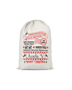 Personalised Santa Sack 6