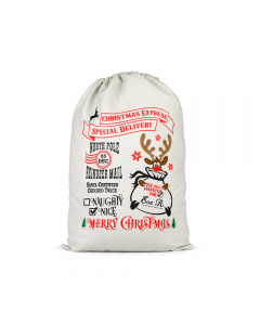 Personalised Santa Sack 5
