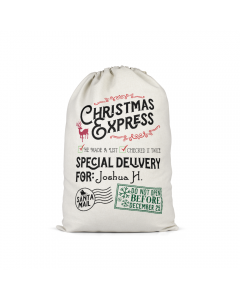 Personalised Santa Sack 1