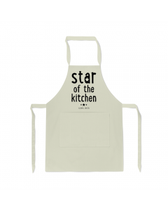 Personalised Name Star Kitchen