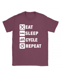 Eat Sleep Cycle Repeat