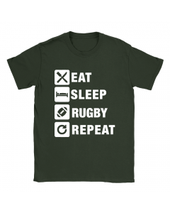 Eat Sleep Rugby Repeat